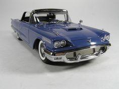 1958 Ford Thunderbird in blue