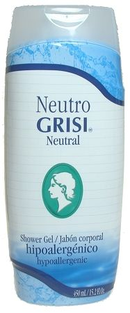 GRISI NEUTRAL SHOWER GEL PARA LA REGADERA  Shower Gel Grisi neutral lotion lightens up skin, nourishes, and protects skin prevents strecthmarks, maintains skin elasticity
