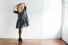 STORMY PLAID DRESS by Faircloth & Supply