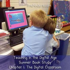 Teaching in the Digital Age Chapter 1 book study discussion via www.prekinders.com #preschool #prek #technology