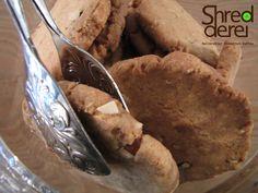 Homemade almond-marzipan-cookies. Fresh baked!