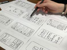 Ux Design, Design Elements, Graphic Design, Lorem Ipsum Text, Key Drawings, User Flow, Sketching Tips, Creative Background, Copy Paper