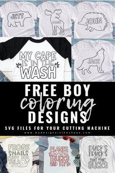 Boy Svg Designs Cut Files For Silhouette And Cricut Boy Cutting Files
