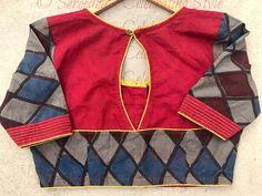 Simple Blouse Designs, Stylish Blouse Design, Saree Models, Blouse Models, Embroidered Blouse, Printed Blouse, Pattu Saree Blouse Designs, Embroidery Suits Design, Designer Blouse Patterns