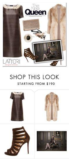 """LATTORI designer dresses"" by helenevlacho ❤ liked on Polyvore featuring Lattori, River Island, Christian Louboutin, Chelsea28 and lattori"