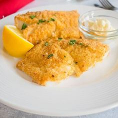 Cod Recipes Oven, Cod Fillet Recipes, Fried Cod Recipes, Cod Fish Recipes, Seafood Recipes, Cooking Recipes, Keto Recipes, Healthy Recipes, Cod Dishes