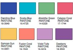 fluidity.  Pantone color forecast 2014
