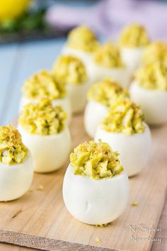 Deviled eggs crab cake stuffed [with recipe video] – Special Recipes For Easter Easter Recipes, Egg Recipes, Holiday Recipes, Cooking Recipes, Dinner Recipes, Crab Dishes, Seafood Dishes, Seafood Recipes, Special Recipes
