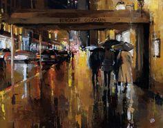 Яркие и простые картины. Victor Bauer