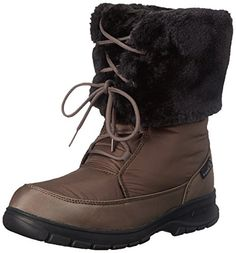 Kamik Women's Seattle Insulated Winter Boot, Brown, 7 M US >>> Continue to the product at the image link.