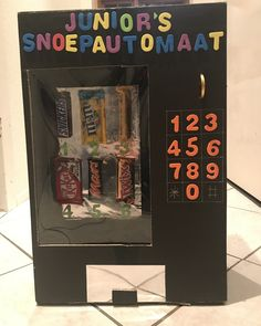 Surprise snoepautomaat Arcade Games, Objects, Presents, Kids, Crafts, Gifts, Young Children, Favors, Children