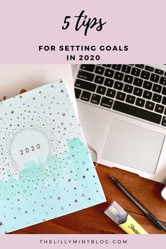 5 top tips for setting your goals in 2020 - includes a full process on how to set goals that will challenge you, yet are achievable. Set Your Goals, Healthier You, Setting Goals, Personal Development, Mint, Blog, Challenge, Peppermint, Blogging