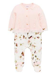 Baker By Ted Baker Baby Girls Mockable Romper Suit - Light Pink, Light Pink, Size - Light Pink - Newborn Baby Girl Romper, Baby Girls, Ted Baker Baby, Romper Suit, Girls Rompers, Baby Size, Baby Wearing, Pink Tops, Tutu
