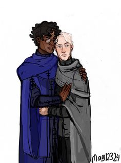 Let's just pretend Draco is taller, for the sake of how beautiful this art is