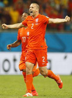 Ron Vlaar of Netherlands