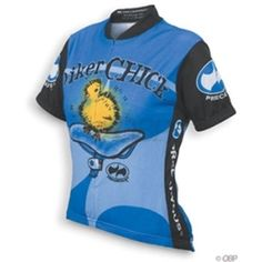 World Jerseys Women s Biker Chick Cycling Jersey - Blue I have had this  one! Sadly 63c1d9cbc