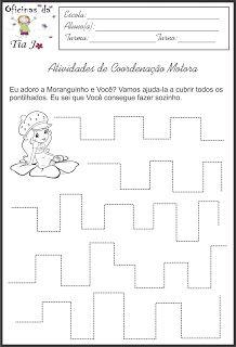 Coordenação motora fina | Jossandra Barbosa Professor, Word Search, Preschool, Words, Download, Free, Infant Activities, Gross Motor Skills, Bonding Activities