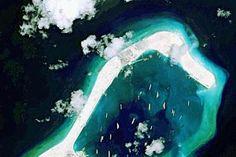 South China Sea: Choppy waters near Subi Reef
