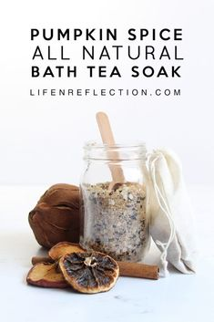 DIY Pumpkin Spice Bath Tea, for an Autumn Soak