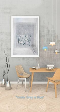 Under Grey in Blue Irish Art, Meet The Artist, Home And Deco, Art Pieces, Contemporary, The Originals, Biscuit, Artwork, Furniture