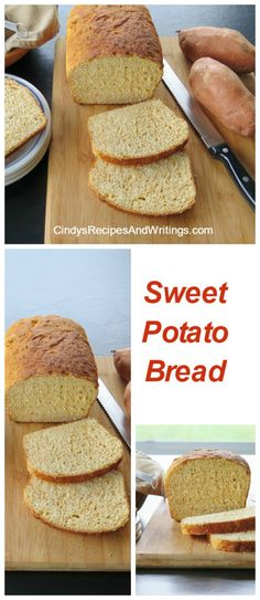 Sweet Potato Bread #BreadBakers Sweet Potato Bread lifts fall breads to another level! Moist, airy and light for sandwiches or toasting.