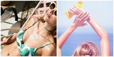 9  Αντηλιακά που θα σας προστατεύσουν και θα σας  δώσουν τροπικό μαύρισμα Bikinis, Swimwear, Health Fitness, Fashion, Bathing Suits, Moda, Swimsuits, Fashion Styles, Bikini