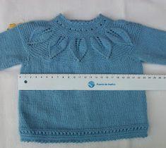 Blog Abuela Encarna Baby Knitting, Crochet Baby, Baby Sweaters, Free Pattern, Crochet Patterns, Pullover, Crop Tops, Women, Fashion