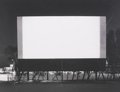 Hiroshi Sugimoto: Winnetka Drive-In, Paramount (1993) - 711