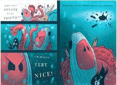 The Kraken's Rules for Making Friends - Children's Book #sponsored review