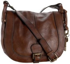 Fossil Vintage Reissue Flap Cross-Body,Brown,one size