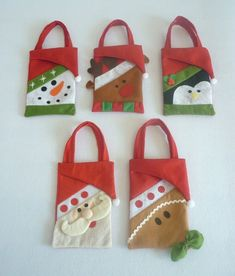 Merry Christmas Apple Gift Handbag Candy Bag Xmas Candy Bags Decoration Decor L Trending Christmas Gifts, Christmas Sewing, Christmas Embroidery, Christmas Gifts For Kids, Christmas Candy, Xmas Gifts, Christmas Crafts, Snowman Decorations, Christmas Decorations