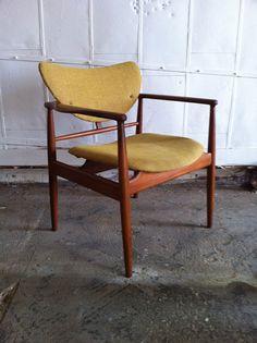 FINN JUHL NV  48 Armchair by WoodLoveEtc on Etsy, $3500.00