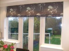 Roman blinds are great for sliding doors blinds pinterest window coverings for sliding glass doors window treatments for tricky doors better homes and planetlyrics Choice Image