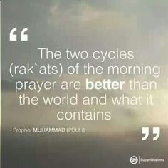 fajr (dawn prayer)