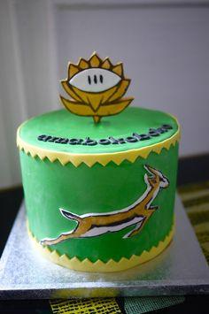 Springbok cake.