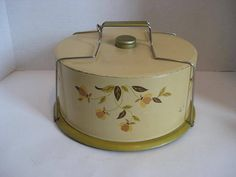 Free Shipping Hall Jewel Tea Autumn Leaf Cake by BehindTheWall
