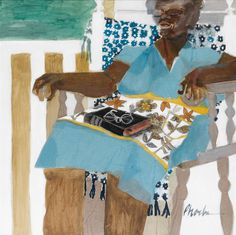 """From Maya Angelou's Art Collection """"If I am not good to myself, how can I expect anyone else to be good to me?"""" M31335-11 002"""