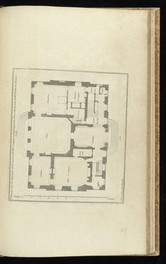 French architecture, or, Collection of plans, elevations, cuts and profiles of churches, palaces, hotels & restaurants private houses of Paris, & amp; chasteaux & amp; country houses or surroundings, & amp; several other places in France, newly built by the most skilled architects, and raised & amp; measured exactly on the spot: Mariette, Jean, 1660-1742: Free Download, Borrow, and Streaming: Internet Archive Palace, Vintage House Plans, Hotel Restaurant, Architectural Prints, French Architecture, Oise, Marquise, France, Floor Plans