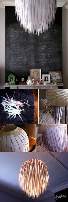diy – handmade inšpirácie – kreatívna lampa