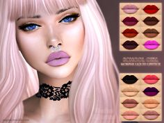SCHOOL GIRL - MORPHE LIQUID LIPSTICK • base game ❤️ • 16 colors ❤️ • HQ texture ❤️ • Works with all skins ❤️ • Custom CAS image ❤️ DOWNLOAD (simfileshare) DOWNLOAD (TSR)• If you have any problems with the display of this lipstick please let me...
