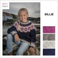 no - Spesialist på islandsk ull Sweater Knitting Patterns, Drops Design, Knitting For Kids, Suits You, Knit Crochet, Barn, Spring Summer, Sweaters, Shopping
