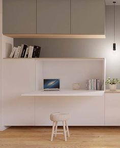 40 Trends This Year Small Home Office Furniture Design Ideas 41 – homemisuwur - Zimmereinrichtung Small Home Office Furniture, Corner Furniture, Home Office Space, Home Office Decor, Office Ideas, Ikea Office, Office Office, Bedroom Office, Furniture Chairs