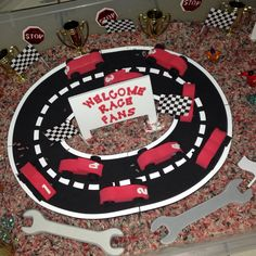 Tommy's Race Car Themed Sensory Party Box