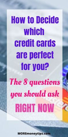 How to Know Which Credit Cards Best Suit You? - Finance tips, saving money, budgeting planner Money Tips, Money Saving Tips, Financial Apps, Business Credit Cards, How To Become Rich, Investing Money, Budgeting Money, Frugal Tips