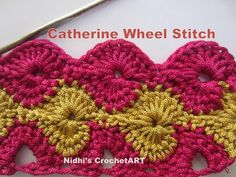 How To Crochet- Catherine Wheel Stitch Tutorial