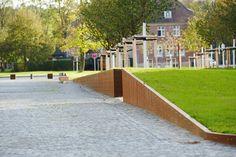 Storehouse City Münster by scape « Landscape Architecture Platform Landscape Walls, Landscape Architecture, Contemporary Landscape, Landscape Designs, Bright Future, Urban Design, Beautiful Landscapes, Around The Worlds, City