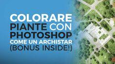 Come fanno i grandi studi di architettura a produrre quelle stupende piante? In questo tutorial ti insegno a colorare piante in Photoshop come un'archistar.