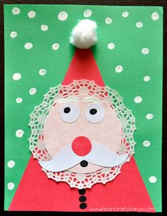 Kids Santa Craft