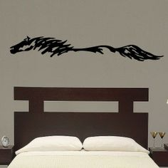 Abstract Horse Pony Mustang Vinyl Wall Decal Art