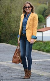 FASHION WORK   : 3 COMBINACIONES DE COLOR con AMARILLO MOSTAZA!